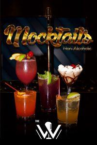 W Karaoke Mocktails Menu