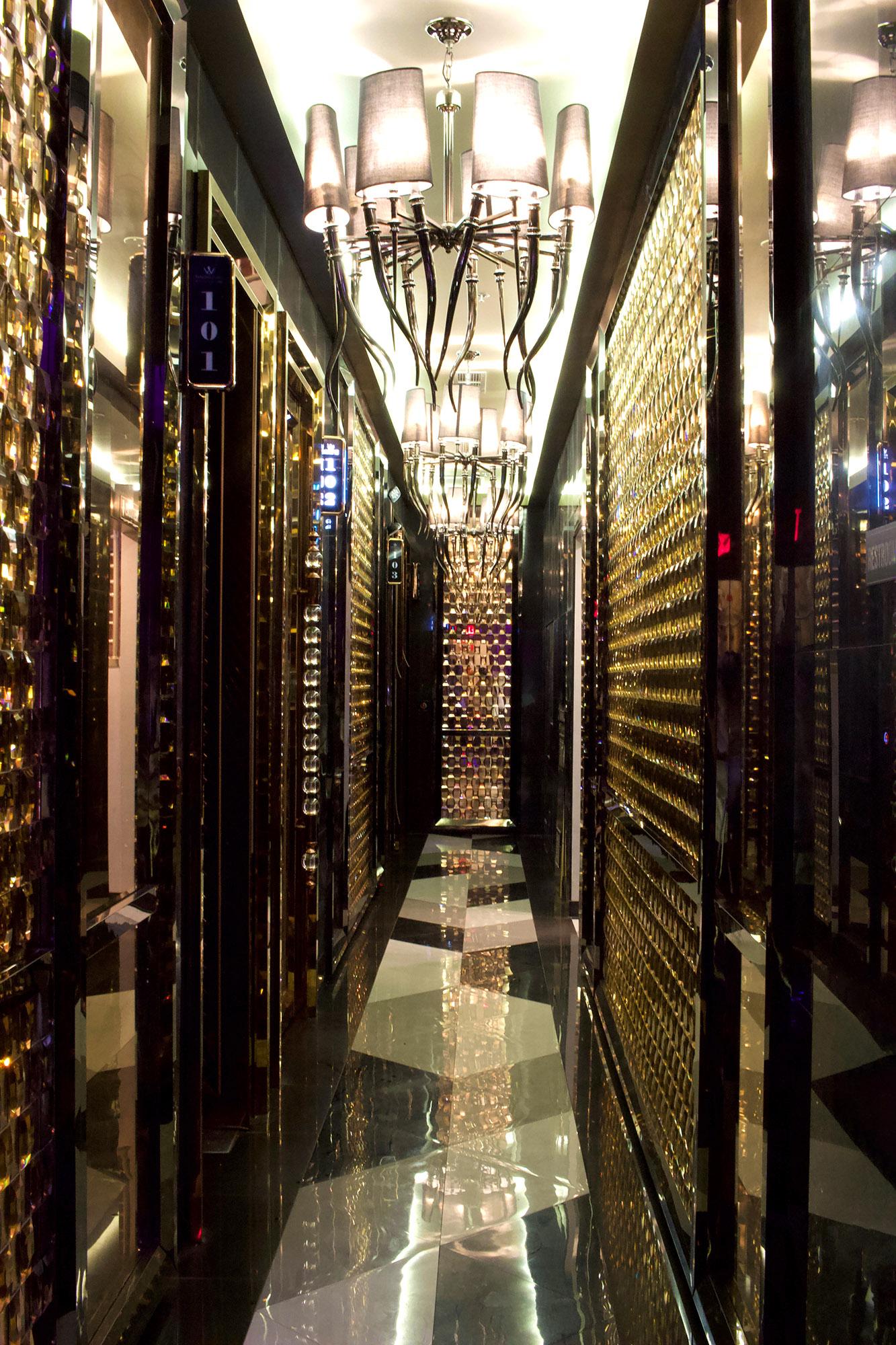 The W Karaoke Hallway
